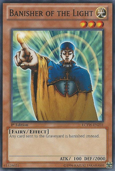 Banisher of the Light - LCYW-EN231 - Common - 1st Edition