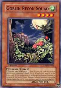 Goblin Recon Squad - LODT-EN033 - Common - 1st Edition