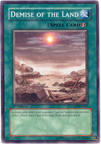 Demise of the Land - LODT-EN047 - Common - 1st Edition