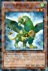 Gusto Griffin - DT07-EN017 - Parallel Rare - Duel Terminal on Channel Fireball