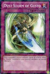 Dust Storm of Gusto - DT07-EN049 - Parallel Rare - Duel Terminal on Channel Fireball