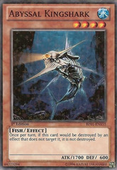 Abyssal Kingshark - BP01-EN155 - Starfoil Rare - Unlimited Edition