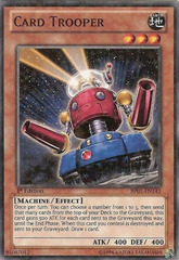Card Trooper - BP01-EN143 - Starfoil Rare - Unlimited Edition on Channel Fireball