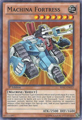 Machina Fortress - BP01-EN022 - Starfoil Rare - Unlimited Edition