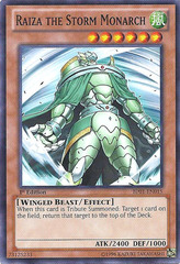 Raiza the Storm Monarch - BP01-EN015 - Starfoil Rare - Unlimited Edition