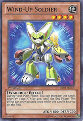 Wind-Up Soldier - BP01-EN166 - Starfoil Rare - Unlimited Edition