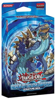 Yu-Gi-Oh Structure Deck: Realm of the Sea Emperor - 1st Edition