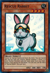 Rescue Rabbit - CT09-EN015 - Super Rare - Limited Edition on Channel Fireball