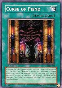 Curse of Fiend - MRL-032 - Common - 1st Edition