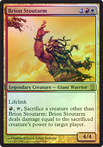 Oversized - Brion Stoutarm