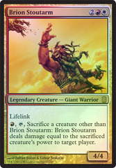 Brion Stoutarm - Oversized - Foil