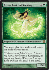 Azusa, Lost but Seeking - Oversized - Foil