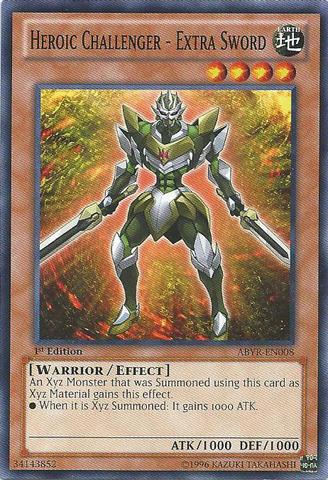 Heroic Gift ABYR-EN068 Common Yu-Gi-Oh Card Mint 1st Edition New Losse kaarten