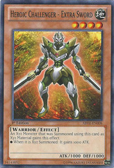 Heroic Challenger - Extra Sword - ABYR-EN008 - Common - 1st Edition