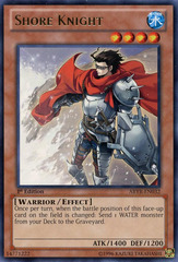 Shore Knight - ABYR-EN032 - Rare - 1st Edition