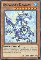 Snowdust Dragon - ABYR-EN093 - Common - 1st Edition