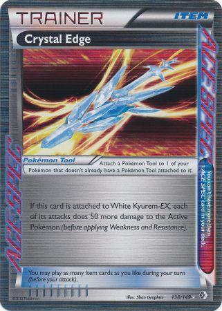 Crystal Edge - 138/149 - Rare Holo