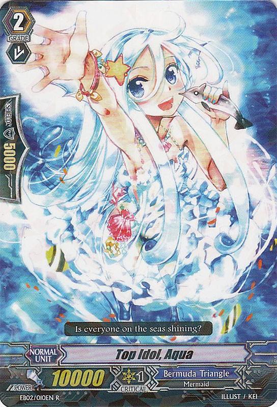 Top Idol, Aqua - EB02/010EN - R