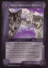 White Mountain Wolves