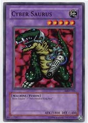 Cyber Saurus - MRD-105 - Common - 1st Edition