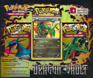 Pokemon Dragon Vault Blister Pack - Rayquaza Promo