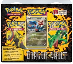 Pokemon Dragon Vault Blister Pack - Druddigon