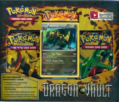 Pokemon Dragon Vault Blister Pack - Haxorus Promo