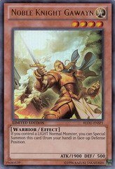 Noble Knight Gawayn - REDU-ENSP1 - Ultra Rare - Limited Edition