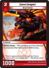 Lava Leaper on Channel Fireball