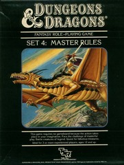 D&D Box Set 4 - Master Rules 1021