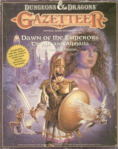 D&D Gazetteer  Dawn of the Emperors: Thyatis and Alphatia Box Set 1037