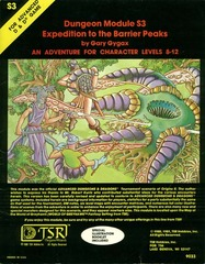 AD&D S3 - Expedition to the Barrier Peaks 9033
