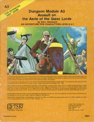 Assault on the Aerie of the Slave Lords