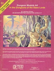 AD&D A4 - In the Dungeons of the Slave Lords 9042