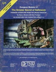 AD&D U1 - The Sinister Secret of Saltmarsh 9062