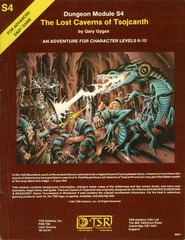 AD&D S4 - The Lost Caverns of Tsojcanth - 9061