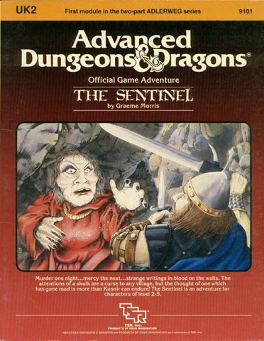 AD&D UK2 - The Sentinel 9101