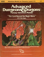 AD&D EX2 - Land Beyond the Magic Mirror 9073