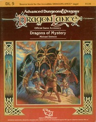 AD&D DL5 - Dragons of Mystery 9135