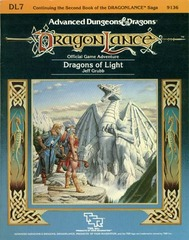 AD&D DL7 - Dragons of Light 9136