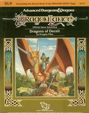 AD&D DL9 - Dragons of Deceit 9137