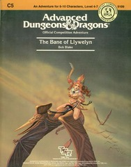 AD&D C5 - The Bane of Llewellyn 9109