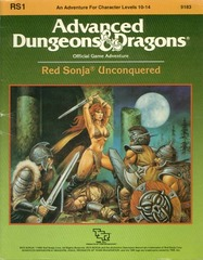 AD&D RS1 - Red Sonja Unconquered 9183