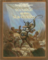 AD&D A1-4 - Scourge of the Slavelords 9167