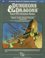 D&D X4 - Master of the Desert Nomads - 9068