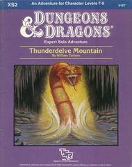 Thunderdelve Mountain Expert Solo Adventure (D&D, 1985)