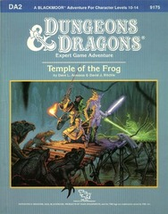 D&D DA2 - Temple of the Frog 9175