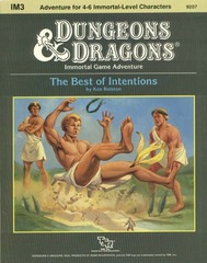 D&D IM3 - The Best of Intentions 9207