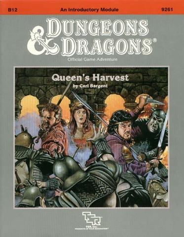 D&D B12 - Queen's Harvest 9261