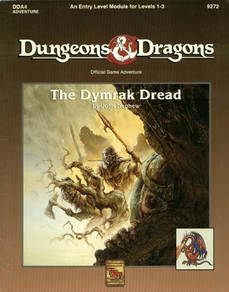 D&D DDA4 - The Dymrak Dread 9272